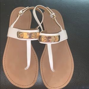Coach sandals in good condition